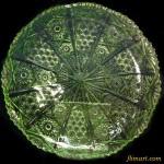 昭和レトロガラスブレス皿25cmプレート