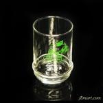 森永コーラスガラスコップ豚柄緑