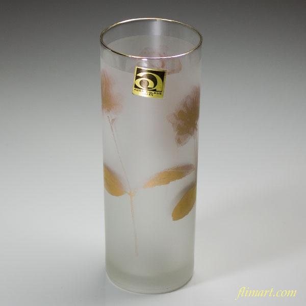 昭和レトロアデリアガラスコップR2107