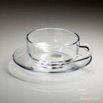 昭和レトロアデリアアデレックスガラスカップ&ソーサーR5889