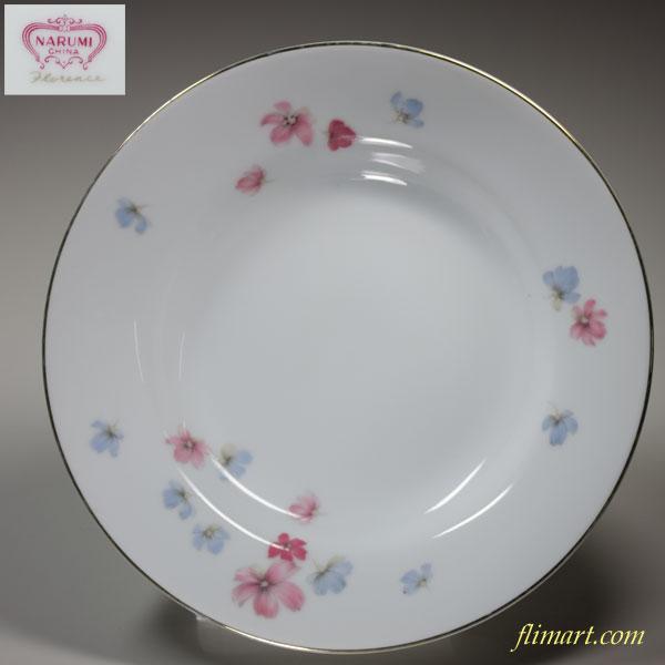 昭和レトロナルミフローレンススープ皿