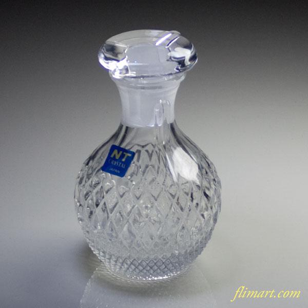 ルジェNTクリスタルガラス醤油挿し