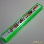 昭和レトロキン肉マンプラスチック箸入れ緑