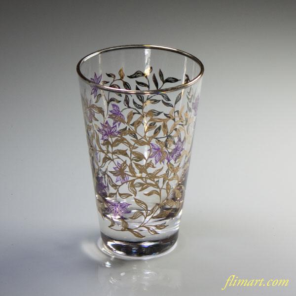 昭和レトロガラスコップR3557
