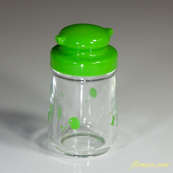 リスプラスチック醤油差し緑