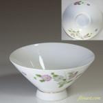 昭和レトロ菊文様茶碗