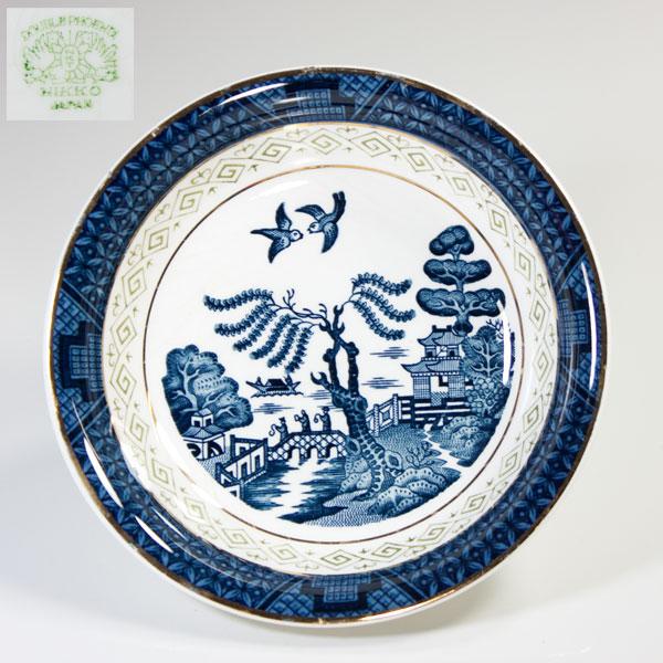 ニッコーダブルフェニックス山水ウィローベリー皿