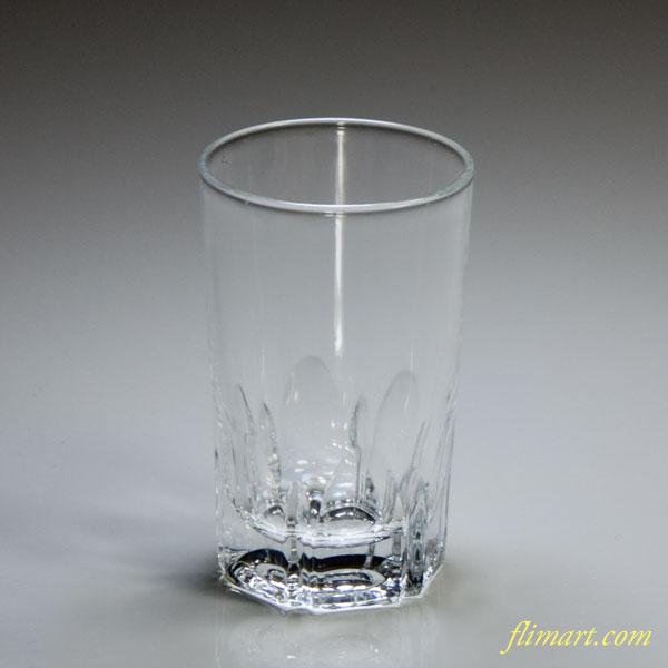 昭和レトロアデリアガラスコップ