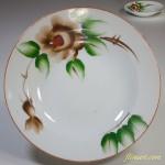 花柄スープ皿R4299
