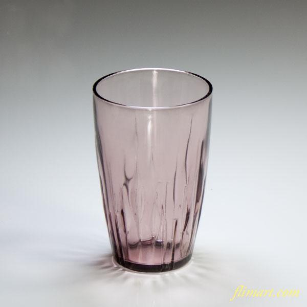 昭和レトロアデリア紫ガラスコップ