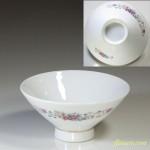 昭和レトロ花柄茶碗R4405