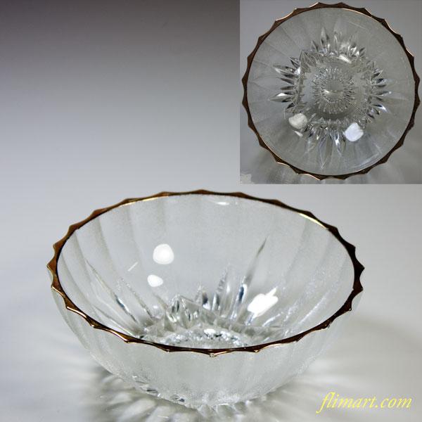 昭和レトロ東洋グラスガラスボウルR4696