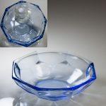 昭和レトロ青ガラス小鉢