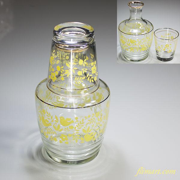 昭和レトロアデリアガラス水差しR4943