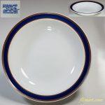 昭和レトロストーンウェア20cmスープ皿R5119