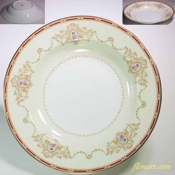 昭和レトロノリタケスープ皿R5202