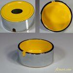 メラミンウェア灰皿黄R5300