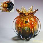 昭和レトロマルティグラスガラス花瓶