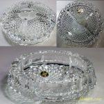 HOYA保谷クリスタルガラス灰皿