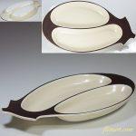 昭和レトロナス型長皿