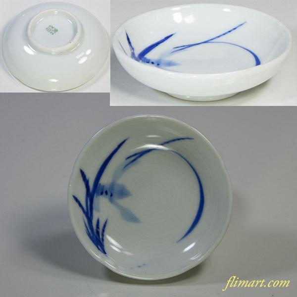 統制陶器「岐236」豆皿