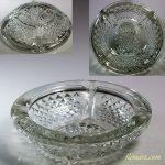 昭和レトロガラス灰皿R5447