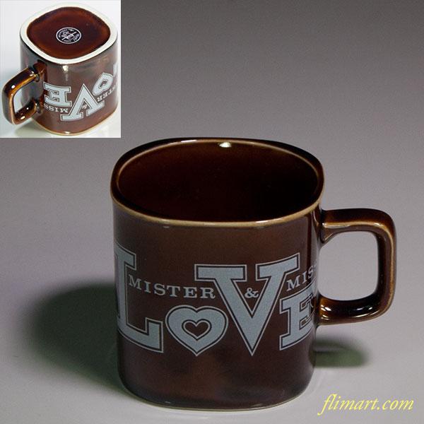 カテゴリー: マグカップ タグ: MISTER&MISS LOVE, 飴釉