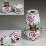 昭和レトロ陶器製ランプ