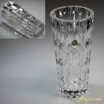 HOYA保谷クリスタルガラス花瓶R5522