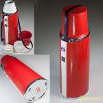 タイガー魔法瓶保温水筒ピックボトルオートリール赤0.75L