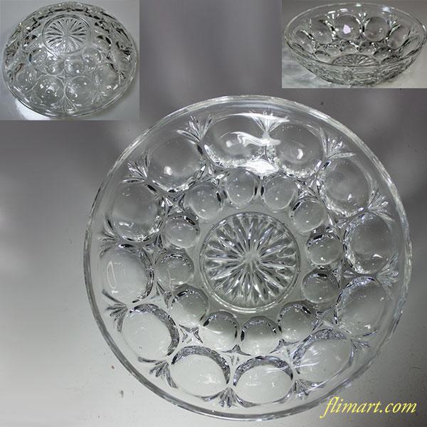 昭和レトロガラス小鉢R5615