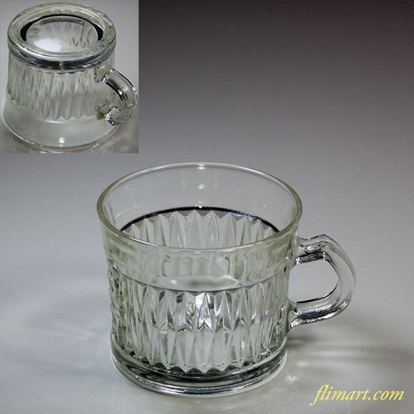昭和レトロガラスマグR5611