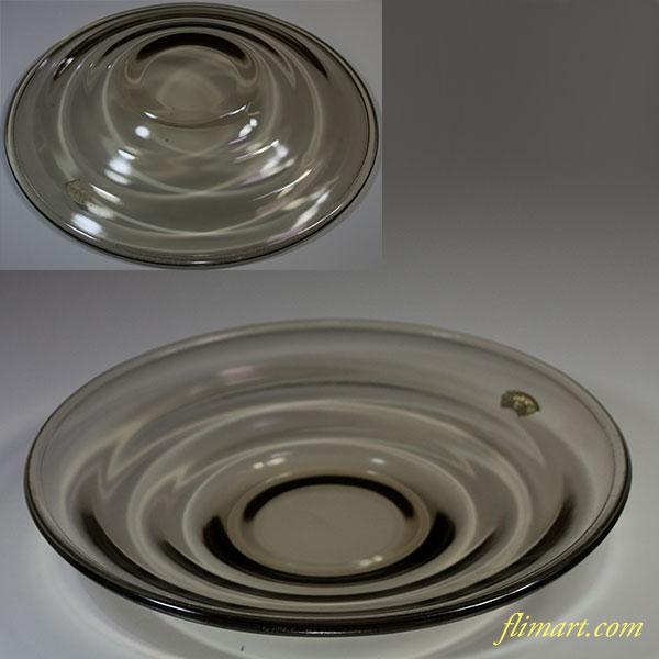 カガミクリスタルガラス24cmプレートR5641