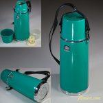 孔雀印魔法瓶保温水筒緑0.55L