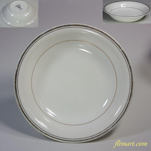 ノリタケアイボリーチャイナリントンベリー皿
