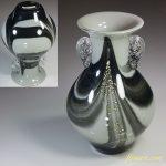 昭和レトロガラス花瓶R5677