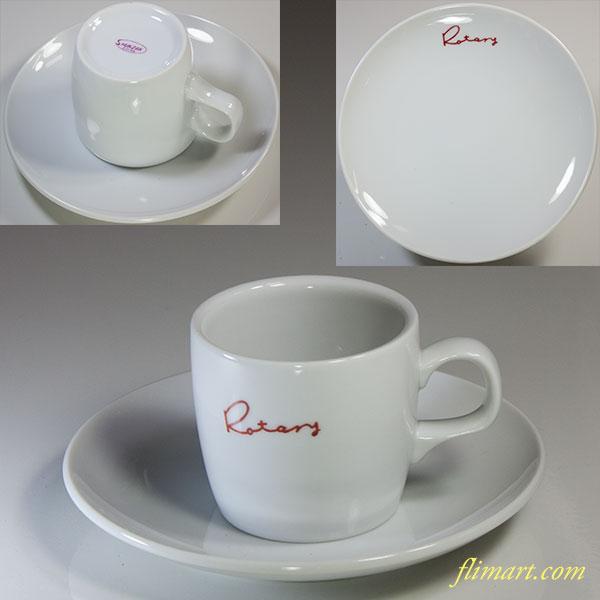 昭和レトロSHUNZAN Rotaryカップ&ソーサー