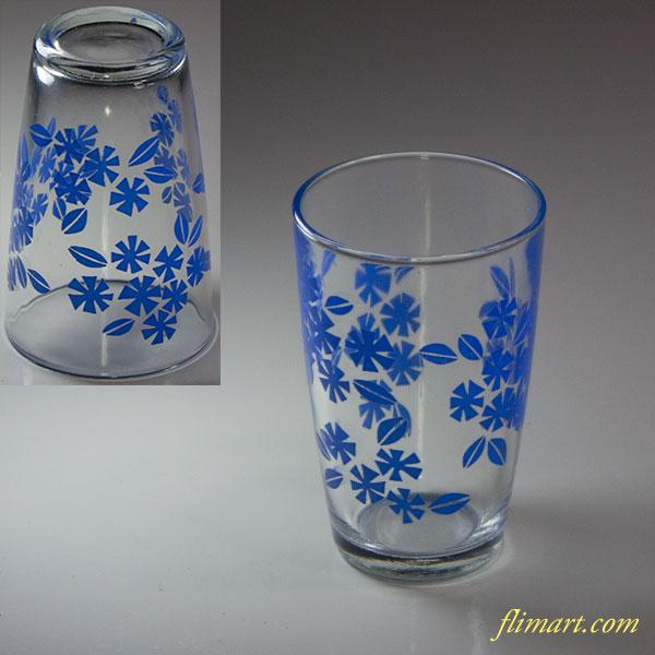 昭和レトロガラスコップR5723