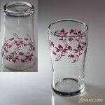 昭和レトロ東洋グラスガラスコップR5771