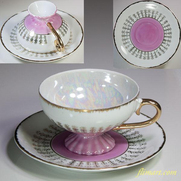 昭和レトロラスターカップ&ソーサーR5750