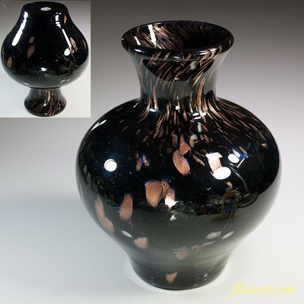 昭和レトロカメイガラス花瓶R5749