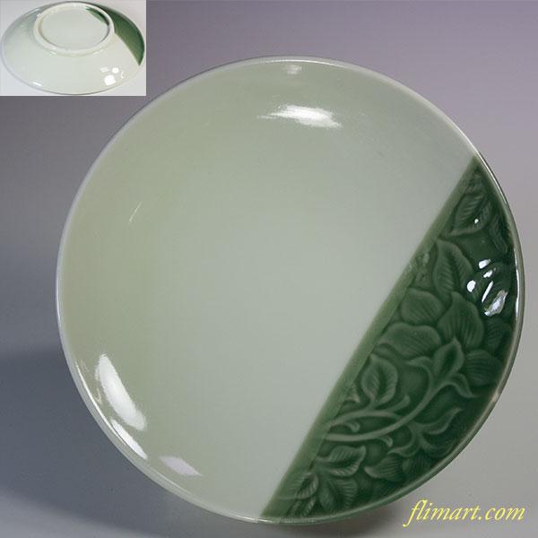 昭和レトロ16.5cm小皿R5804