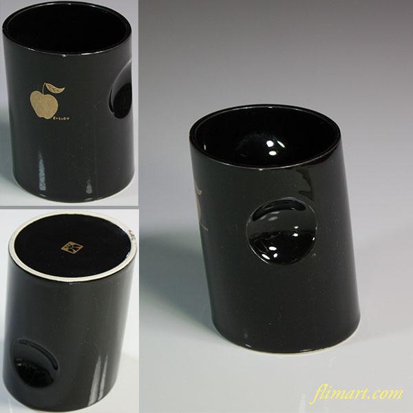 鈴木悦郎フリーカップリンゴ黒