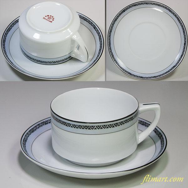 昭和レトロ東洋陶器会社カップ&ソーサーR5784