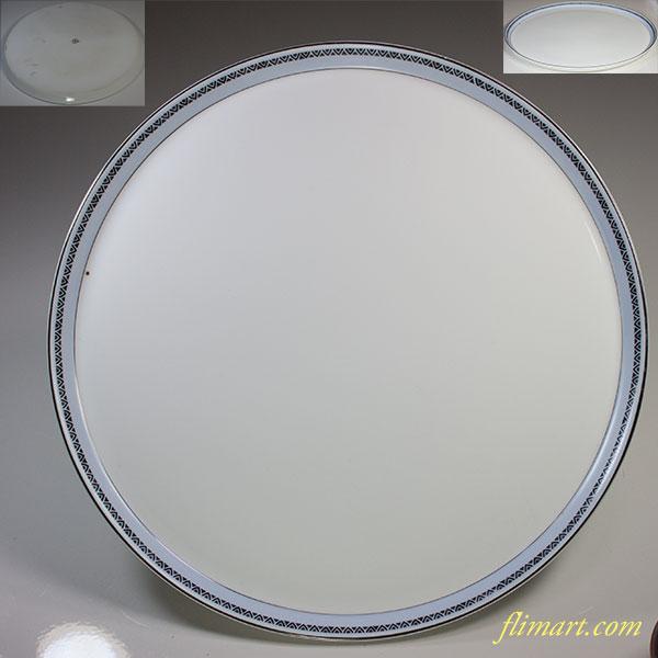 東洋陶器会社30cmピザプレート