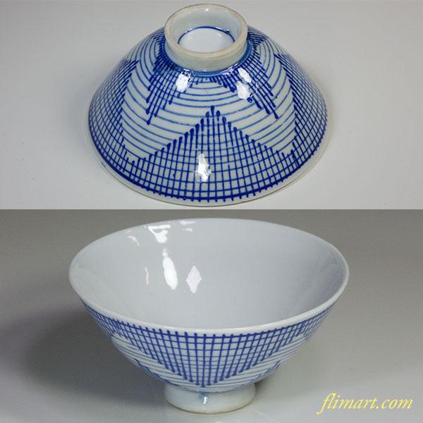 昭和レトロ茶碗R5796