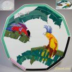 資生堂花椿楽園飾皿