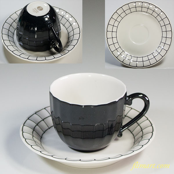 昭和レトロSangoカップ&ソーサーR5841