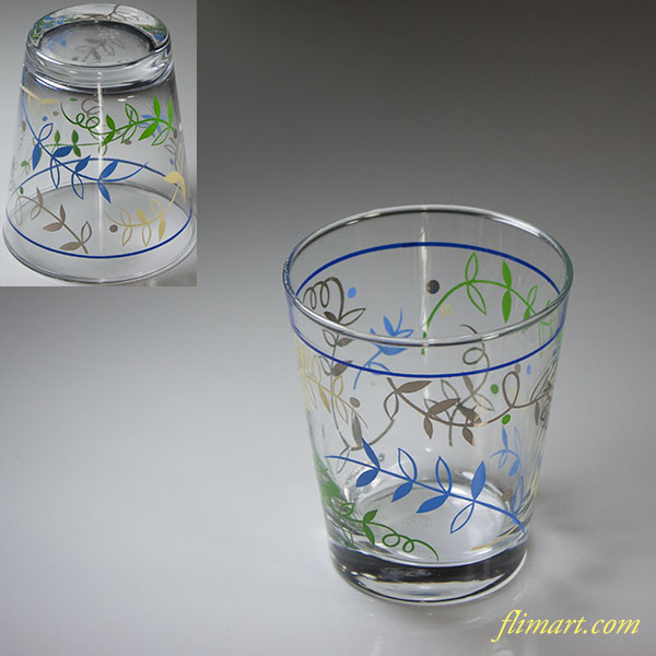 佐々木グラスサクランボ柄ガラスコップR5969