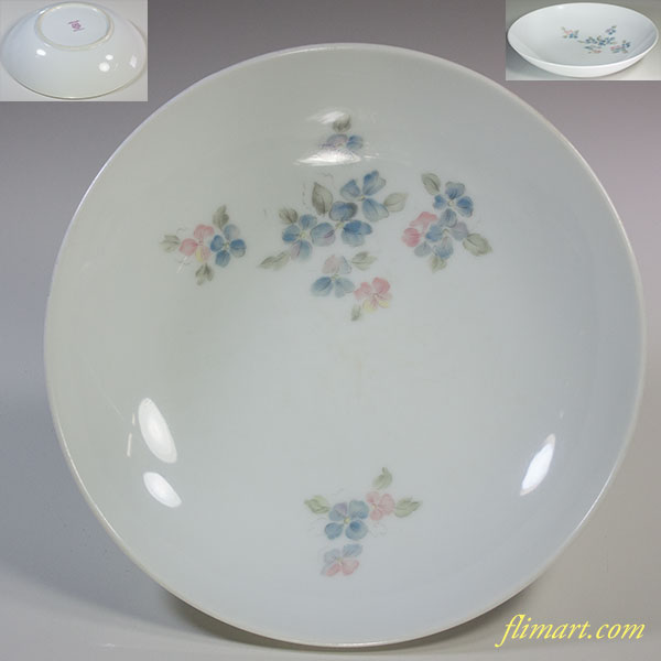 昭和レトロノリタケプリンセス19cmスープ皿